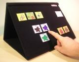 Ability World tri-fold A3 communication / choice board or portable display board