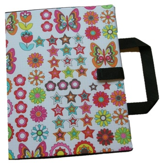 Bifold Communication Folder A4+ Butterflies and Flowers from Ability world