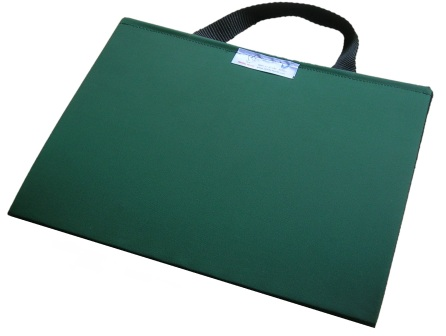 Portable communication folder Bottle Green from Ability World