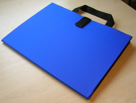 Bifold Communication Folder A4+ Royal Blue from Ability World