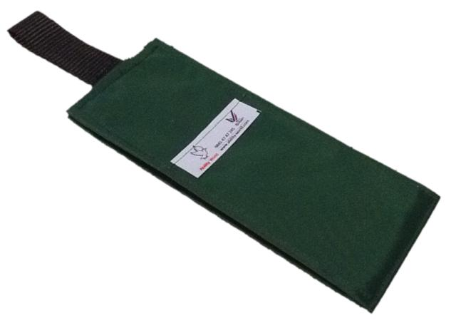 Portable Fabric Schedule - Bottle Green