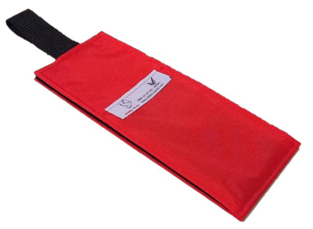 Portable Fabric Schedule - Red