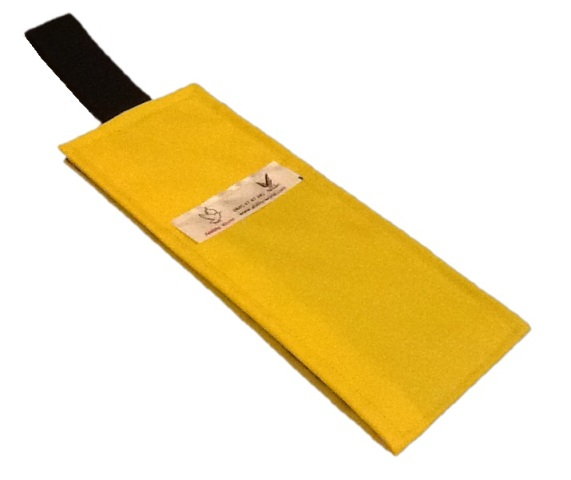 Portable Fabric Schedule - Yellow