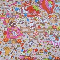 Portable Fabric Schedule - hello kitty