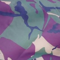 Portable Fabric Schedule - jungle camouflage
