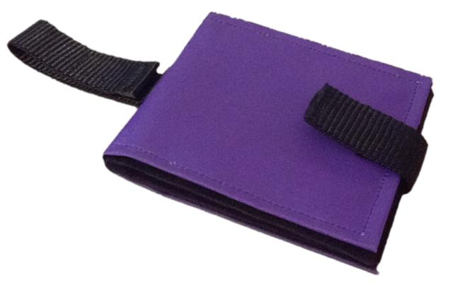 Ability World portable communication book purple