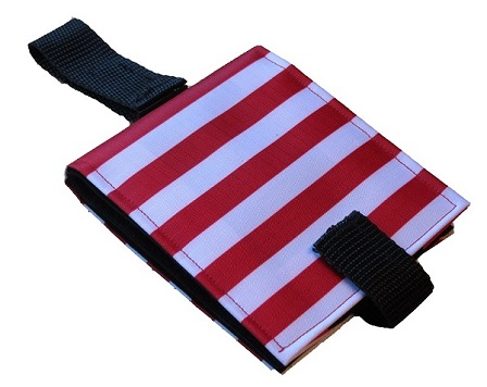 Ability World portable communication book red stripes