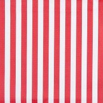 Portable Fabric Schedule - red stripes