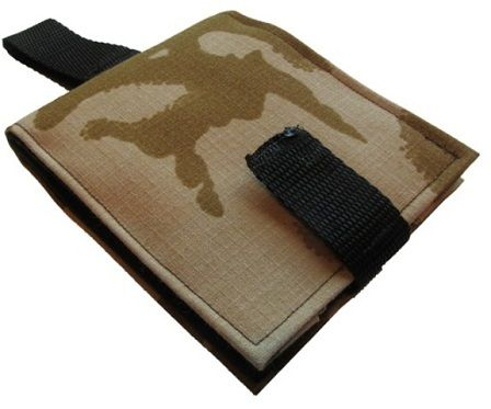 Portable Communication Book - Desert Camouflage