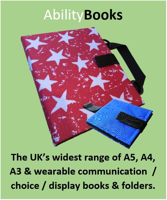 Ability World portable communication books