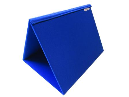 Tri-fold A3 Portable Display Board or A3 Trifold Communication Choice Board Royal Blue