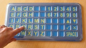 FAB Frenchay Alphabet Board Tabletop size Matrix from Ability World