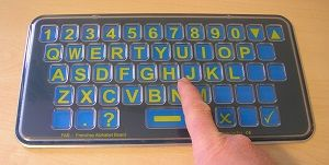 FAB Frenchay Alphabet Board Qwerty Tabletop Size from Ability World