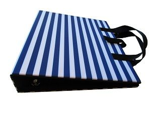 PODD Communication Book Binder A4 Blue Stripes from Ability World
