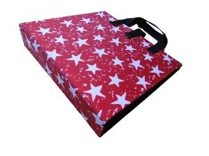 PODD Communicaton Book Binder A4 Red Stars from Ability World