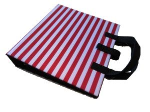 PODD Communicaton Book Binder A4 Red Stripes from Ability World