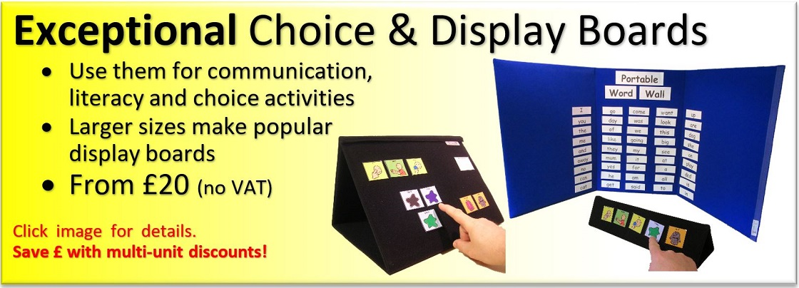 Ability World Portable Display Boards