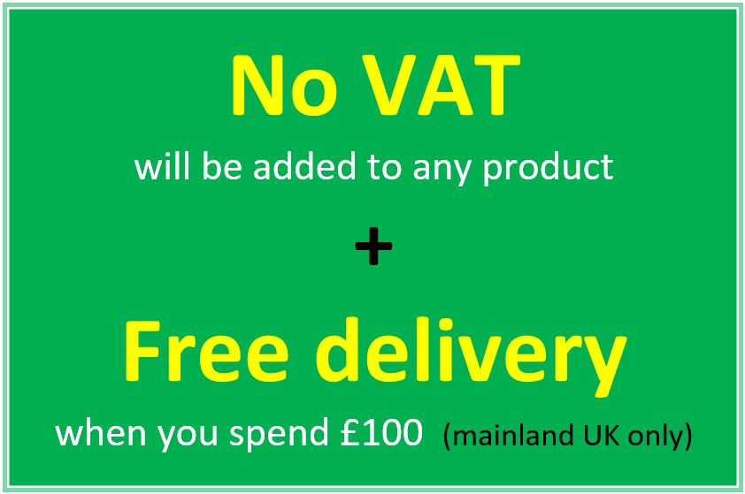 Ability World free delivery and no VAT